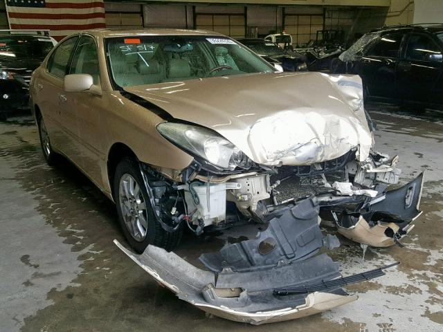 Lexus salvage cars for sale: 2002 Lexus ES 300