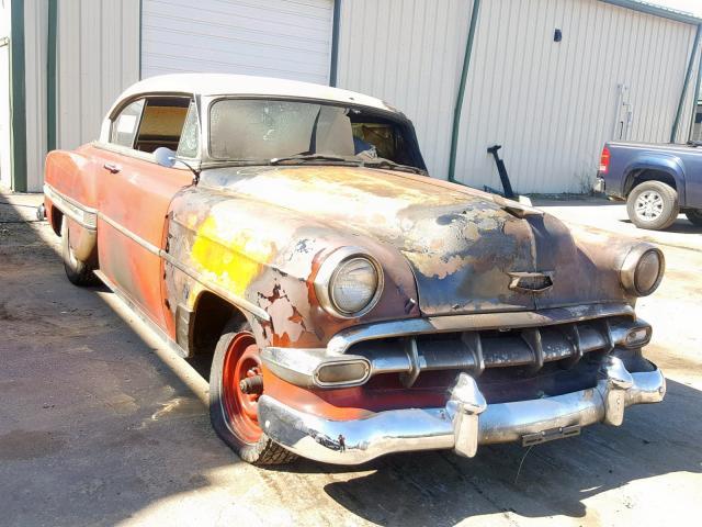 Belair Auto Auction >> Chevrolet Belair 1954 C54j131828 Auto Auction Spot