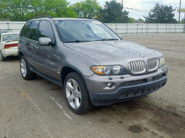 Auto Auction Ended On Vin 5uxfb53576lv27161 2006 Bmw X5 4 4i