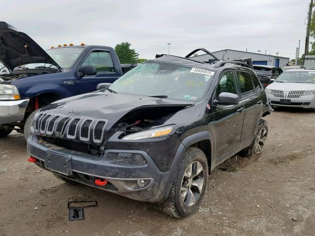 из сша 2016 JEEP CHEROKEE TRAILHAWK 1C4PJMBS0GW359955