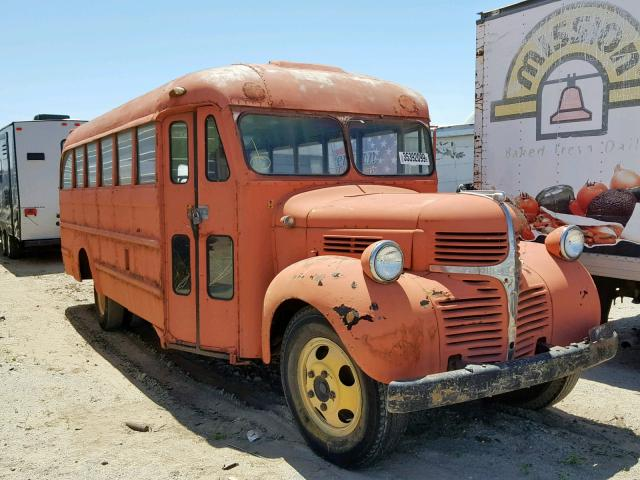 1956 DODGE SCHOOL BUS