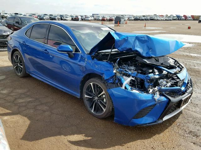click here to view 2018 TOYOTA CAMRY XSE at IBIDSAFELY