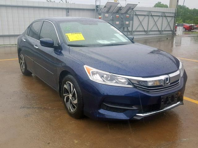 Salvage 2016 Honda ACCORD LX for sale