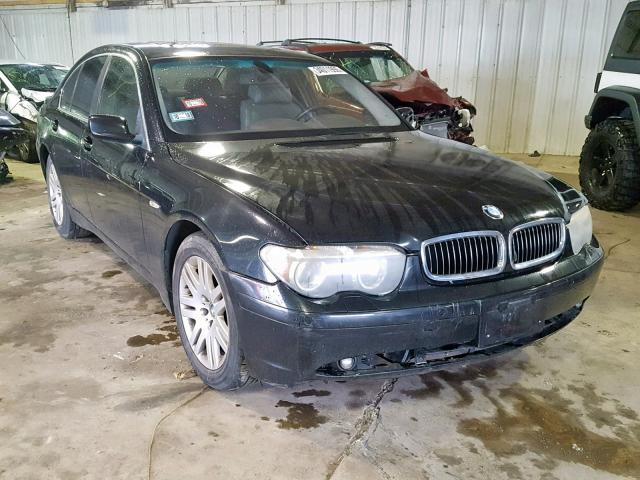 BMW Vehiculos salvage en venta: 2002 BMW 745 I