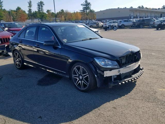Salvage 2014 Mercedes-Benz C 300 4MATIC for sale