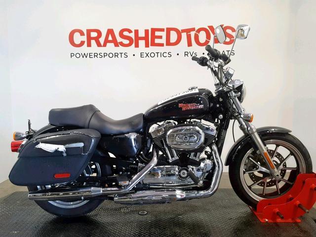 Salvage 2015 Harley-Davidson XL1200 T for sale