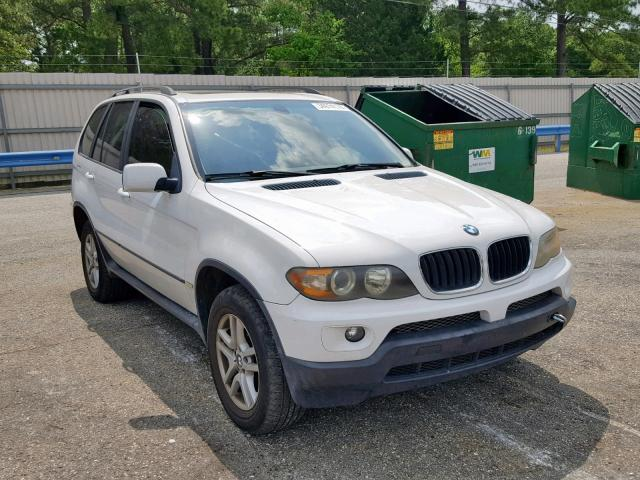 Auto Auction Ended On Vin 5uxfa135x4lu29928 2004 Bmw X5 3 0i