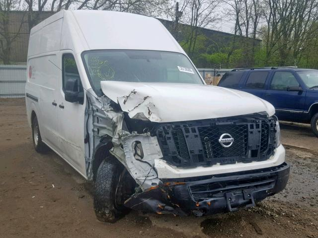 Salvage 2017 Nissan NV 2500 S for sale