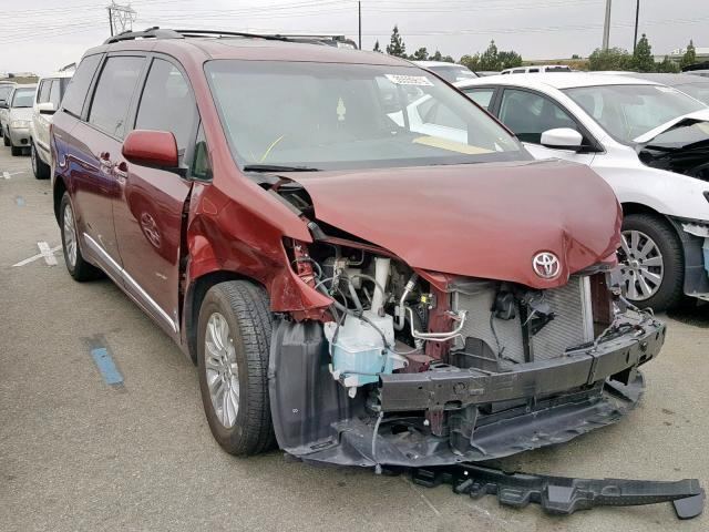 click here to view 2016 TOYOTA SIENNA XLE at IBIDSAFELY