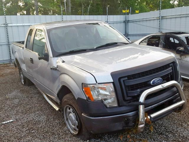 Salvage cars for sale from Copart Harleyville, SC: 2013 Ford F150 Super