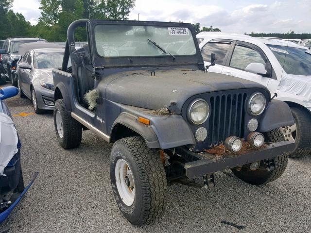 Cj7 Jeep For Sale >> 1jccn87e0ct065625 1982 Jeep Jeep Cj7 In Sc North