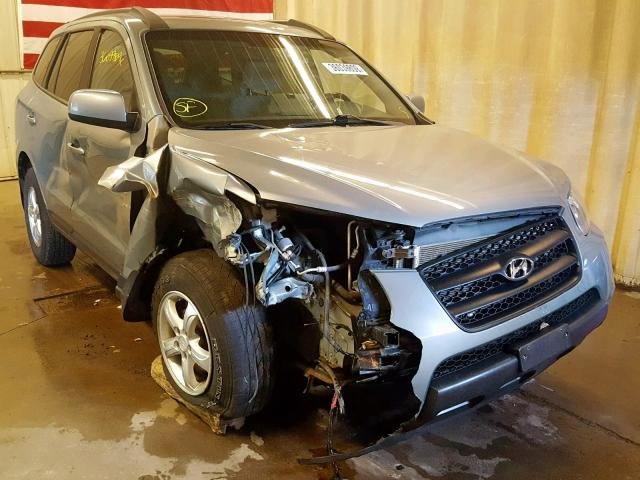 Salvage cars for sale from Copart Avon, MN: 2008 Hyundai Santa FE G
