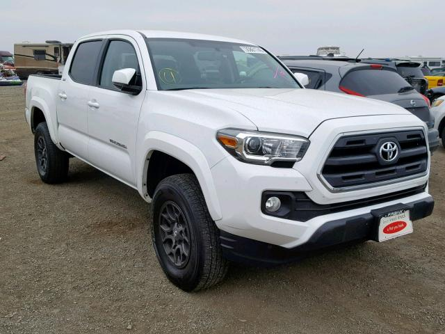 Salvage 2017 Toyota TACOMA DOU for sale