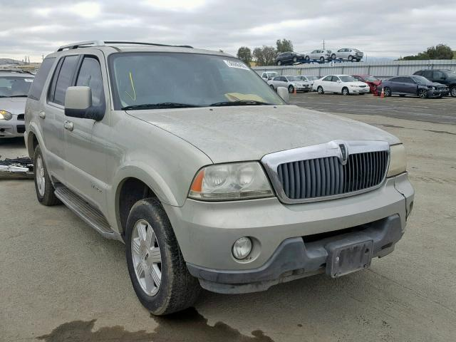click here to view 2003 LINCOLN AVIATOR at IBIDSAFELY