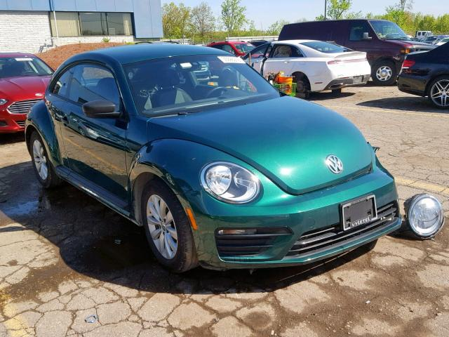 2017 Volkswagen Beetle 1 8 1 8L 4 for Sale in Woodhaven MI - Lot: 35998219