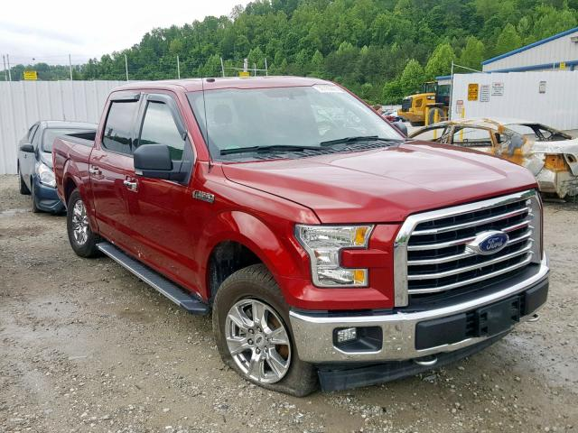 Salvage cars for sale from Copart Hurricane, WV: 2017 Ford F150 Super