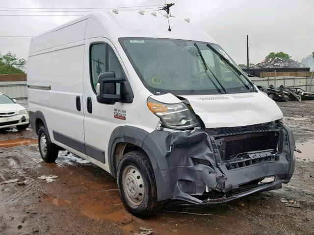 Salvage 2018 Dodge RAM PROMASTER for sale