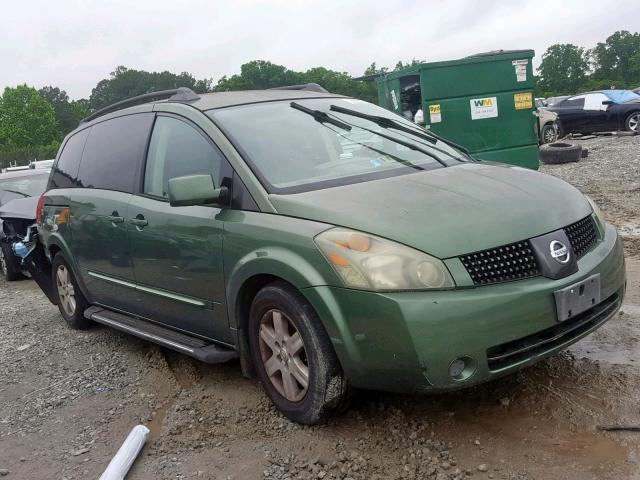 Salvage 2004 Nissan QUEST S for sale