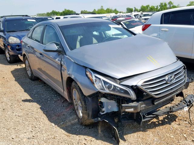 Salvage cars for sale at Bridgeton, MO auction: 2016 Hyundai Sonata SE