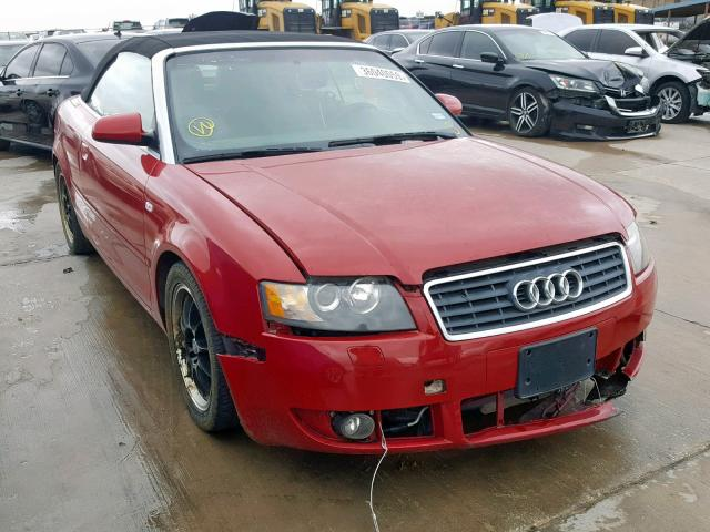click here to view 2003 AUDI A4 1.8 CAB at IBIDSAFELY