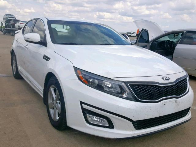 2014 KIA OPTIMA LX Photos | TX - DALLAS SOUTH - Salvage Car Auction