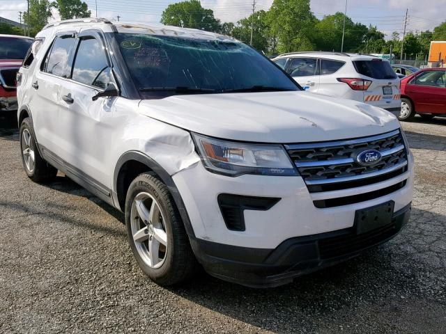 Salvage cars for sale from Copart Bridgeton, MO: 2018 Ford Explorer