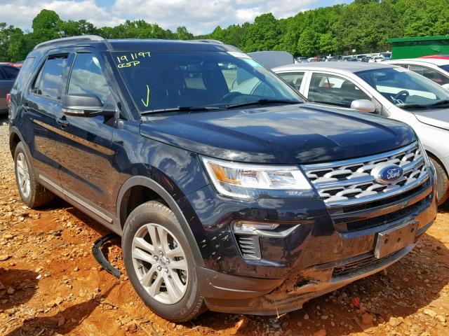 2019 FORD EXPLORER X - Left Front View Lot 36035859.