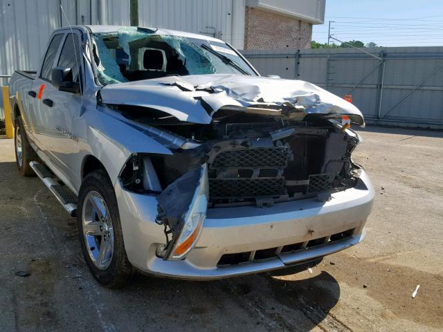 Dodge RAM 1500 S salvage cars for sale: 2012 Dodge RAM 1500 S