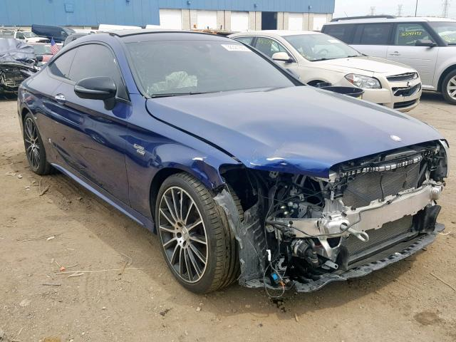 Salvage 2017 Mercedes-Benz C 43 4MATIC for sale