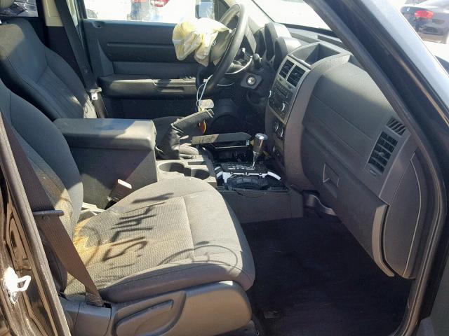 2011 DODGE NITRO HEAT - Left Rear View
