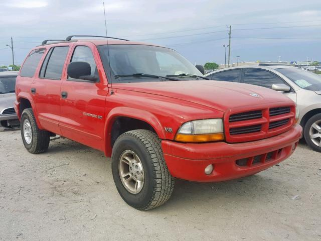 Salvage 1999 Dodge DURANGO for sale