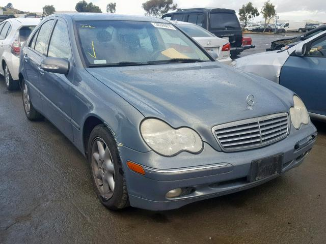 2004 Mercedes Benz C 240 2 6l 6 In Ca Martinez
