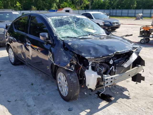 Salvage cars for sale from Copart Ocala, FL: 2016 Nissan Versa S