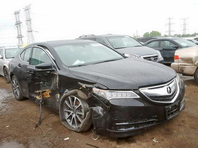 Salvage 2015 Acura TLX for sale