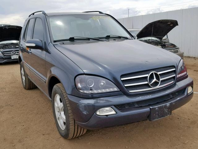 Salvage 2003 Mercedes-Benz ML 500 for sale
