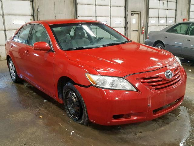 2008 Toyota Camry Ce Left Front View Lot 36267059