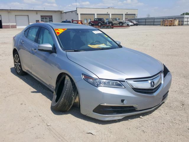 Salvage 2016 Acura TLX TECH for sale