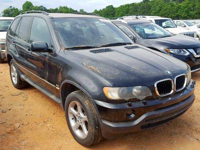 Clean Title 2002 Bmw X5 4dr Spor 30l 6 For Sale In Austell Ga