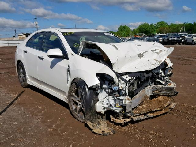 Salvage 2012 Acura TSX SE for sale