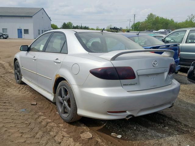 Vin 1yvhp80dx55m08168 2005 Mazda 6 S Right Rear View Lot 35655769