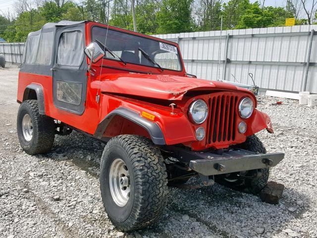 1983 Jeep Scrambler 4 2l 6 For Sale In Walton Ky Lot 36297319