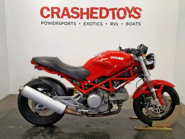 click here to view 2006 DUCATI MONSTER 62 at IBIDSAFELY