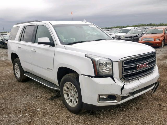 GMC Yukon SLT salvage cars for sale: 2019 GMC Yukon SLT