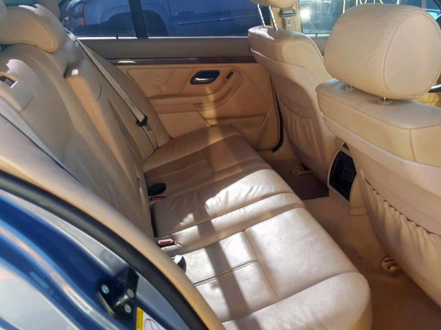 2001 BMW 540 I Auto 4 4L 8 for Sale in Antelope CA - Lot: 36088029