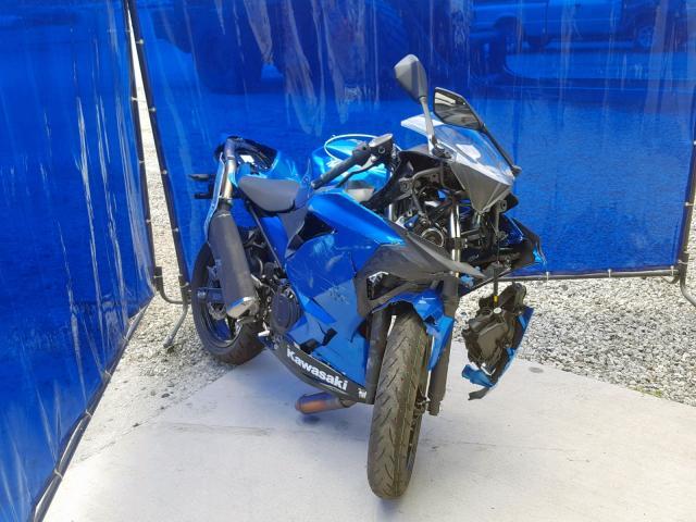 Salvage 2018 Kawasaki EX400 for sale