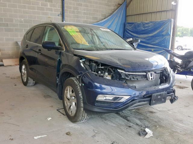 Salvage 2015 Honda CR-V EX for sale