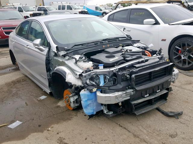 Salvage 2018 Ford FUSION TITANIUM for sale