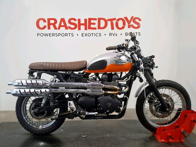 click here to view 2008 TRIUMPH MOTORCYCLE SCRAMBLER at IBIDSAFELY