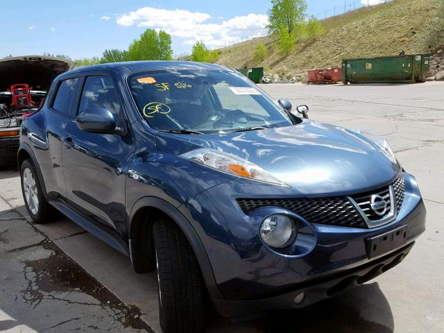 Salvage 2013 Nissan JUKE S for sale