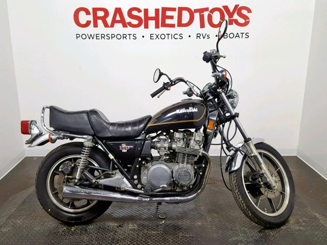 Auto Auction Ended on VIN: KZ750H007746 1980 Kawasaki